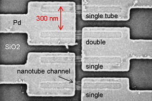 carbon nanotube field-effect transistor (CNTFET) arrays