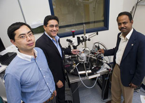 Center for High-Rate Nanomanufacturing researchers