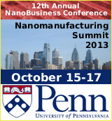 Nanomanufacturing Summit 2013 logo