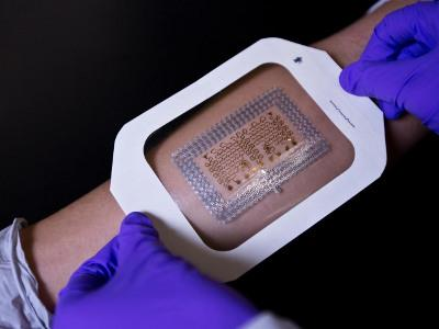Assistant professor Nanshu Lu and her team have developed a faster, inexpensive method for making epidermal electronics. Cockrell School of Engineering
