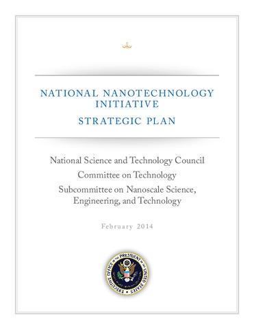 2014 NNI Strategic Plan